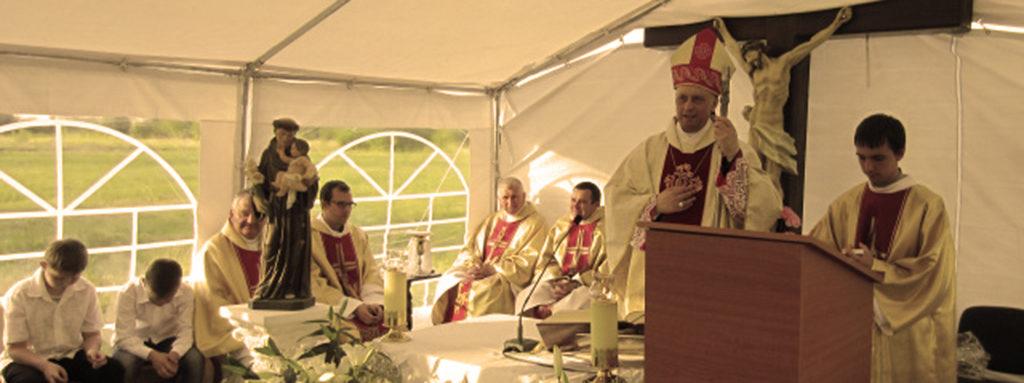 Парафія святого Антонія в Южноукраїнську святкує свою престольну урочистість