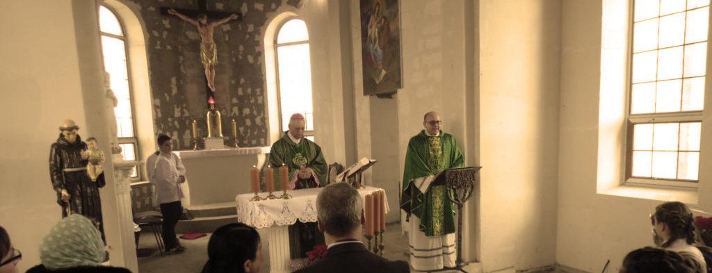 Візит єпископа-ординарія Одесько-Сімферопольської дієцезії Броніслава Бернацького